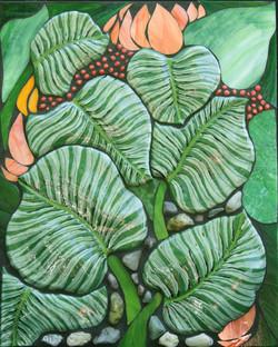 Tropical Leaves  $900