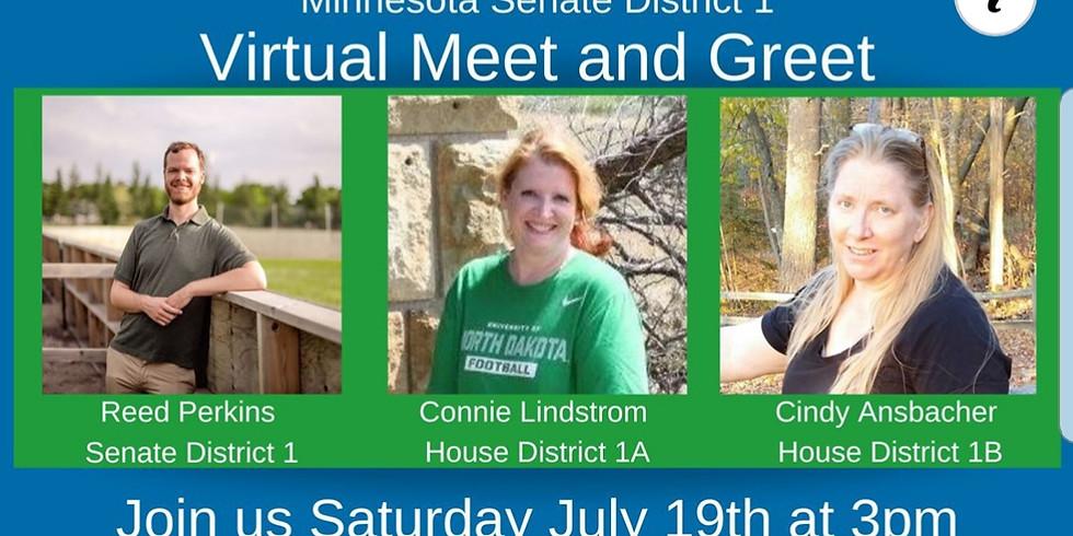 Minnesota Senate District 1 - Virtual Zoom Meet and Greet.