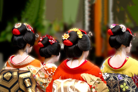 Geishas of Gion
