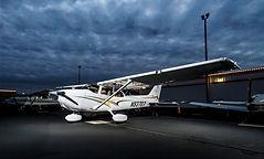 Cessna 172SP  N93707 Airplane