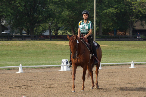 Heartland's own Stride By Stride had the 1st ever Western Dressage teams to compete at Champs!!