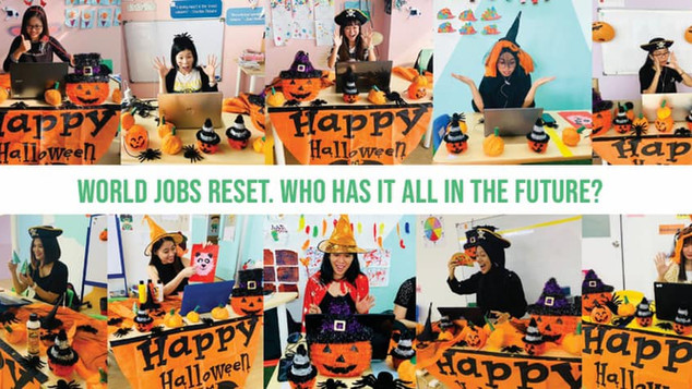 World jobs reset. Who has it all in the future?