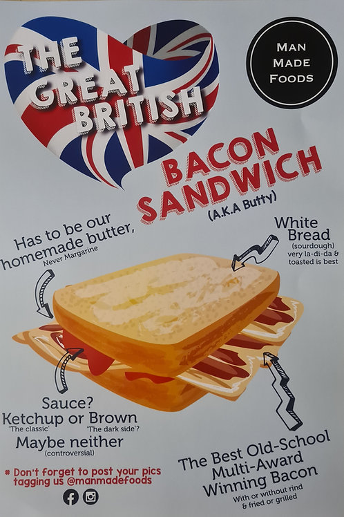 The Great British Bacon Sandwich (Delivered)