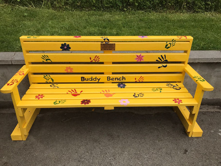 Starinagh Mens Shed install buddy bench