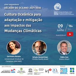 Cultura Oceânica para adaptação e mitigação aos impactos das Mudanças Climáticas
