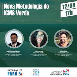 Nova metodologia de cálculo do ICMS Verde do Pará