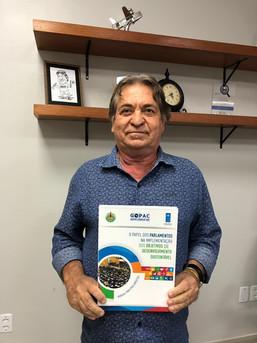 Prefeito de Barcarena destaca a importância do Executivo e Legislativo atuarem em parceria