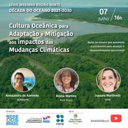Cultura Oceânica para adaptação e mitigação aos impactos das Mudanças Climáticas - Região Norte