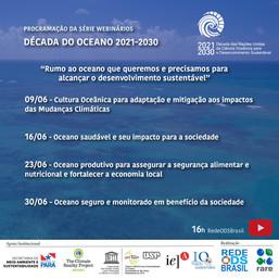 Rumo ao oceano que queremos e precisamos para alcançar o desenvolvimento sustentável