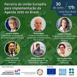 Parceria da União Europeia para a implementação da Agenda 2030 no Brasil