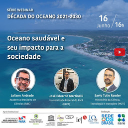 Oceano saudável e seu impacto para a sociedade