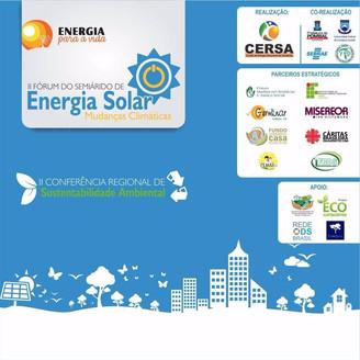 II Fórum do Semiárido de Energia Solar e II Conferência Regional de Sustentabilidade Ambiental