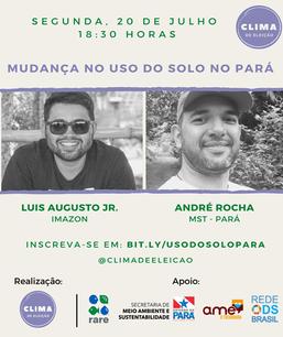 Mudança no uso do solo no Pará