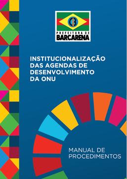 Manual de Procedimentos sobre a Institucionalização das Agendas de Desenvolvimento da ONU