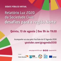 Relatório Luz 2020 da Sociedade Civil: desafios para a região Norte