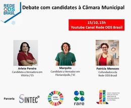 Primeiro debate com candidates à Câmara Municipal