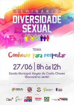 Seminário - Diversidade Sexual: Conhecer para respeitar!
