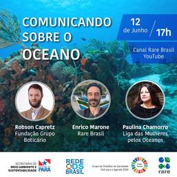Comunicando sobre o oceano