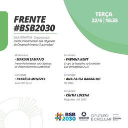 Experiências de fomento e defesa da Agenda 2030