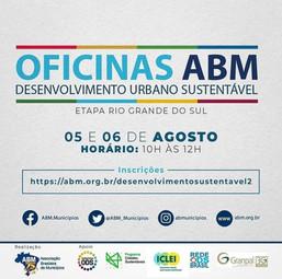 Oficinas ABM Desenvolvimento Urbano Sustentável - Etapa Rio Grande do Sul