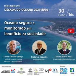 Oceano seguro e monitorado em benefício da sociedade