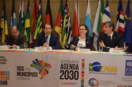 Seminário - Agenda 2030: Estratégias para Localização dos ODS em Nível Municipal