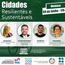 Cidades Resilientes e Sustentáveis