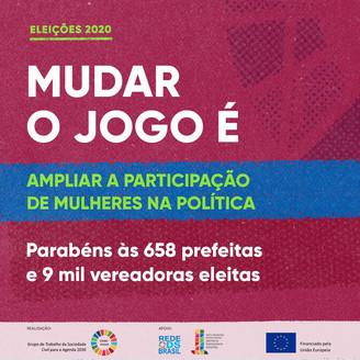 Campanha Mudar o Jogo - Agenda 2030 e as Eleições Municipais entra na segunda fase