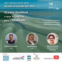 Oceano saudável e seus impactos para a sociedade - Região Norte