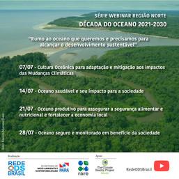 Rumo ao oceano que queremos e precisamos para alcançar o desenvolvimento sustentável - Região Norte