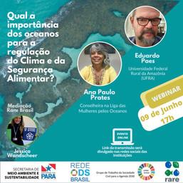 Qual a importância dos oceanos para a regulação do Clima e da Segurança Alimentar?