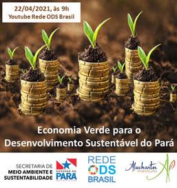 Economia Verde para o Desenvolvimento Sustentável do Pará