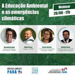 A Educação Ambiental e as emergências climáticas