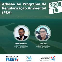 Adesão ao Programa de Regularização Ambiental (PRA)