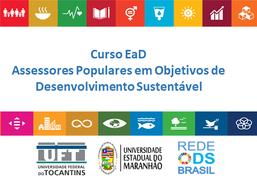 Curso EaD Assessores Populares em Objetivos de Desenvolvimento Sustentável