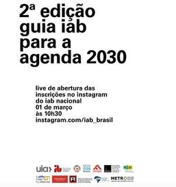 Estão abertas as inscrições para a segunda edição do Guia IAB para a Agenda 2030