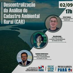 Descentralização da Análise do Cadastro Ambiental Rural (CAR)