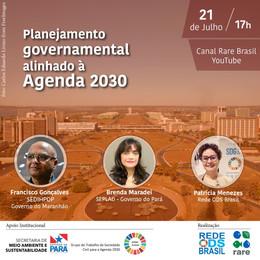 Planejamento governamental alinhado à Agenda 2030