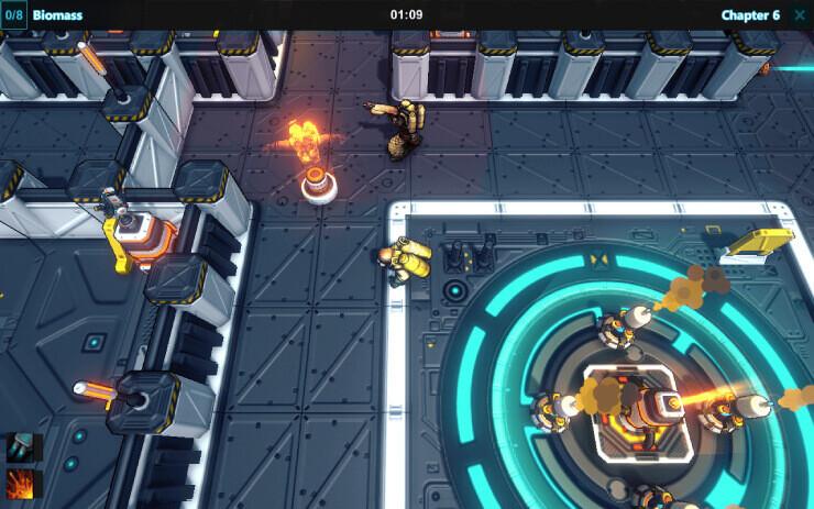 Stygian Nebula Game-Play Screenshot