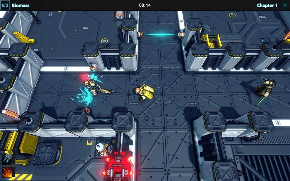 Rebels Dawn game-play screenshot