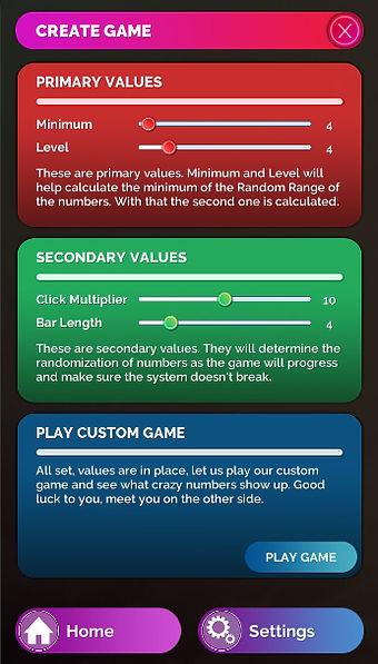 Pastel Custom Game Creation