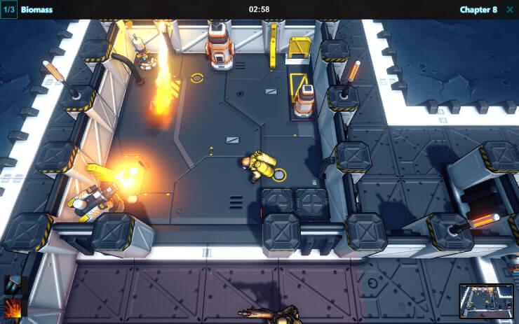 Retribution Game-Play Screenshot