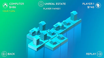 Unreal Estates Game Ended