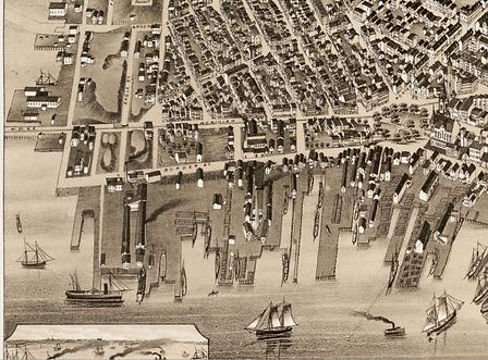 1879 Bailey map, detail, Smith & Townsen