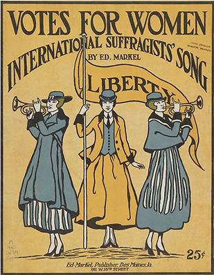 Poster, Votes for Women, MOON 8-14-20.PN