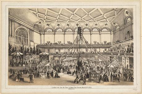 Boston Music Hall, c1858, Dig Comm_commo