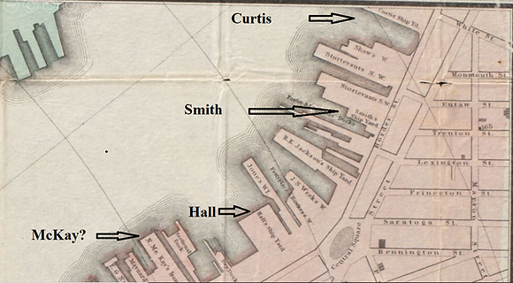 1866 map detail, Smith moved down, capti