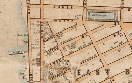 1852 map detail, Curtis gone, McKay, and