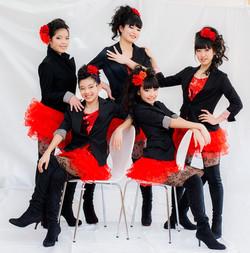 Photosession for dance studio  Izumi