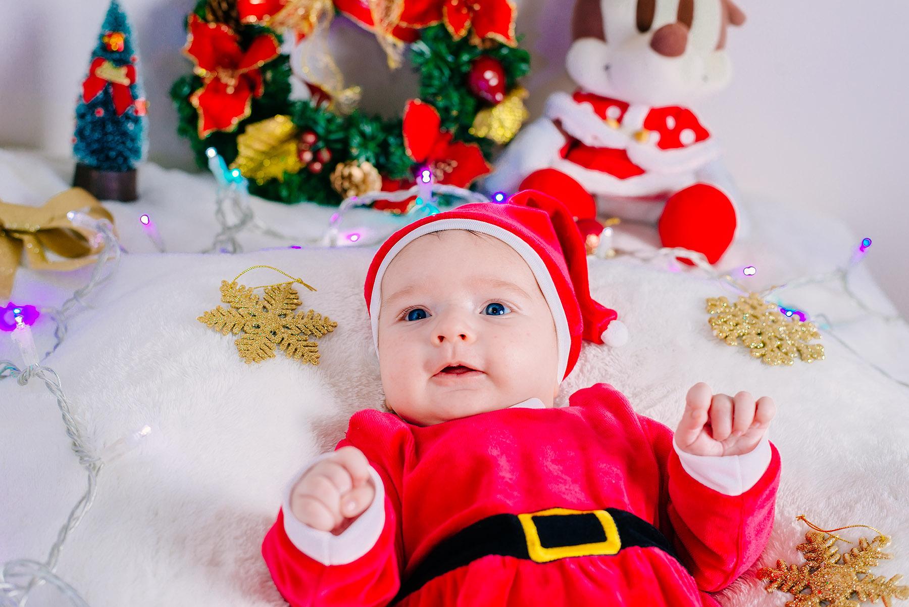 Santa Claus' little friend